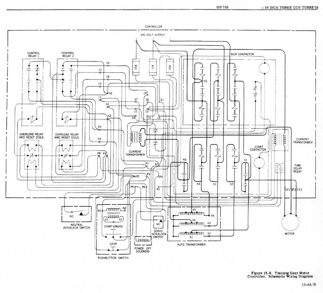 Navord Op 769 Chapter 15 Turret Electrical Systems Page 1 Ati Transfer Switch Wiring Diagram Installations 2