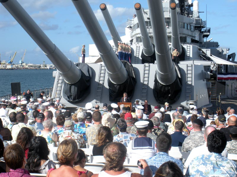 65th anniversary of Japanese surrender