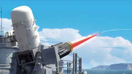 A   Raytheon-U.S. Navy team is working to add a solid-state laser to the   Phalanx Close-in Weapon System.