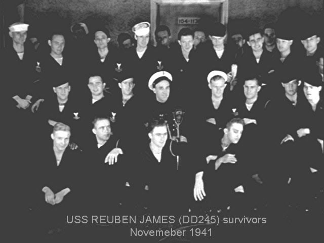 USS Reuben James DD-245 survivors
