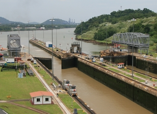 Locks at Panama Canal