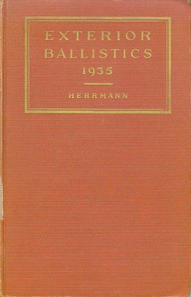 Usn Exterior Ballistics 1935 Preface Index